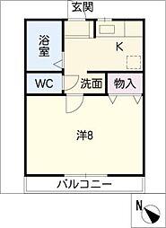 J・シエスタ[1階]の間取り
