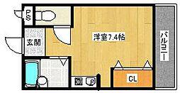 ニューコート小林[3階]の間取り