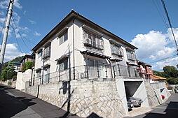 広島県広島市西区己斐中3丁目の賃貸アパートの外観