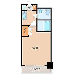 東京都中央区勝どき2丁目の賃貸マンションの間取り