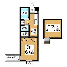 セントハウス[2階]の間取り