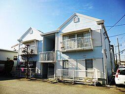 兵庫県伊丹市昆陽南1丁目の賃貸アパートの外観