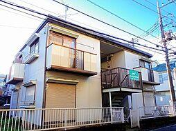 埼玉県新座市新堀2の賃貸アパートの外観