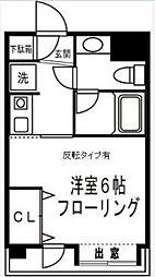 東京都大田区西糀谷4丁目の賃貸マンションの間取り