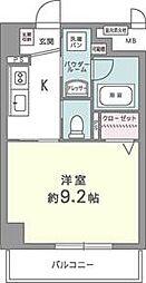 カルムクレール258[4階]の間取り