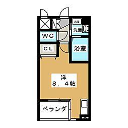 アルバ則武新町[9階]の間取り