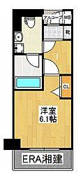 グリフィン横浜・東白楽弐番館[806号室]の間取り