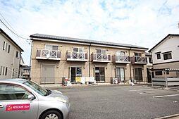 愛知県名古屋市中川区江松1丁目の賃貸アパートの外観