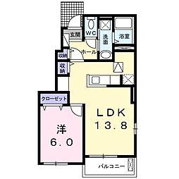 ラ・ルクシア[0101号室]の間取り