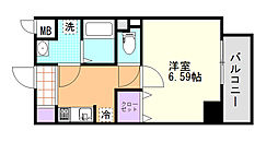 (仮)D-Room東高砂[103号室]の間取り