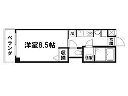 マ・アビタシヨン[6階]の間取り