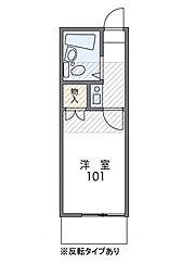 東戸塚ヒルズ[1階]の間取り