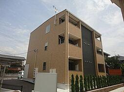 広島県広島市佐伯区千同2丁目の賃貸アパートの外観
