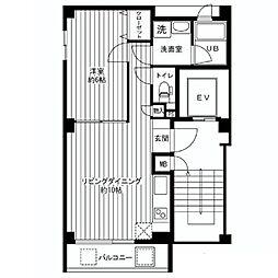 f・Studio(エフ・スタジオ)[7階]の間取り