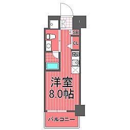 クラリッサ横浜中央[4階]の間取り