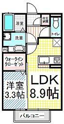 仮)D-room三輪9丁目(都市ガス)[3階]の間取り