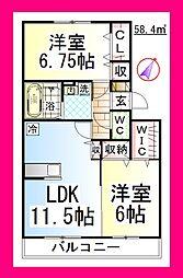 JHエレガント湘南 [ペット可・駐車場1台付][2階]の外観