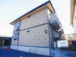 千葉県白井市西白井1の賃貸アパートの外観