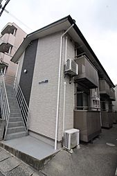 鹿児島県鹿児島市唐湊3の賃貸アパートの外観