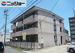 愛知県岩倉市大山寺町岩塚の賃貸マンションの外観