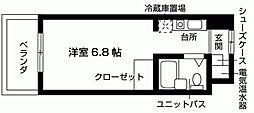 加島ハイツ[105号室号室]の間取り