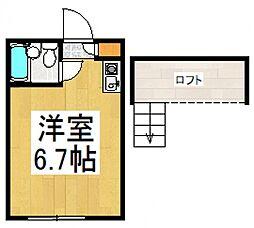 ベルテ[2階]の間取り