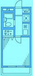 エクレール21[1階]の間取り