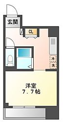 ラクロア[3階]の間取り