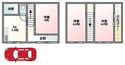 [一戸建] 大阪府寝屋川市点野3丁目 の賃貸【/】の間取り