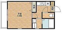 アンプルールフェール宮内[2階]の間取り