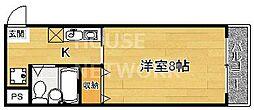 CASA・DE大橋[303号室号室]の間取り