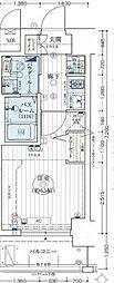 エステムコート難波WEST-SIDE IVザ・フォース[10階]の間取り