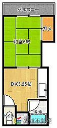 古川アパート[103号室]の間取り