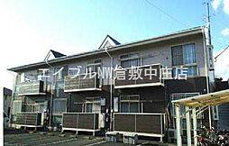 岡山県倉敷市上富井の賃貸アパートの外観