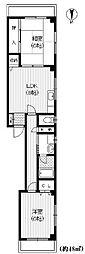 メゾン セタ[2階]の間取り