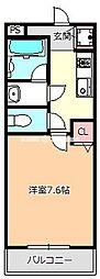 エアリーメゾン加美東[2階]の間取り