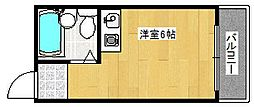 コスモレジデンス花園南[3階]の間取り