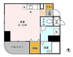 サンクレールコート[5階]の間取り