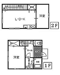 [一戸建] 青森県八戸市根城3丁目 の賃貸【青森県 / 八戸市】の間取り