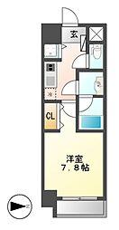 Comfort新栄[6階]の間取り