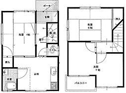 [一戸建] 香川県さぬき市志度 の賃貸【/】の間取り