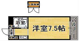 ダイナコート博多駅南[5階]の間取り