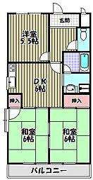 レジデンス今井3号館[3階]の間取り
