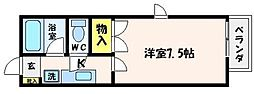 Nbハウス[2階]の間取り