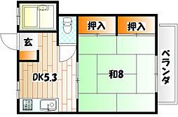 AC井堀[1階]の間取り