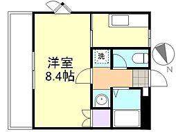 プリメール老松[2階]の間取り