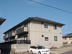 広島県東広島市西条中央3丁目の賃貸アパートの外観