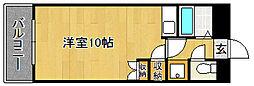 Kステーション八田[402号室]の間取り