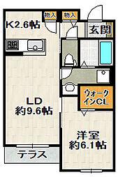 (仮)SHM伊丹鴻池II[103号室]の間取り