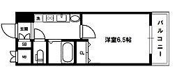 エステムコート新大阪7ステーションプレミアム[3階]の間取り